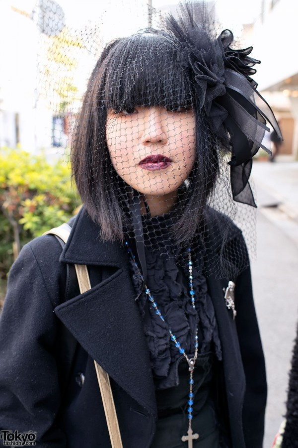 Harajuku Fashion Walk Street Snaps (52)