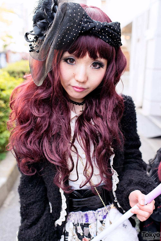 Pink hair goth girl fucks her bf 5 - 2 6