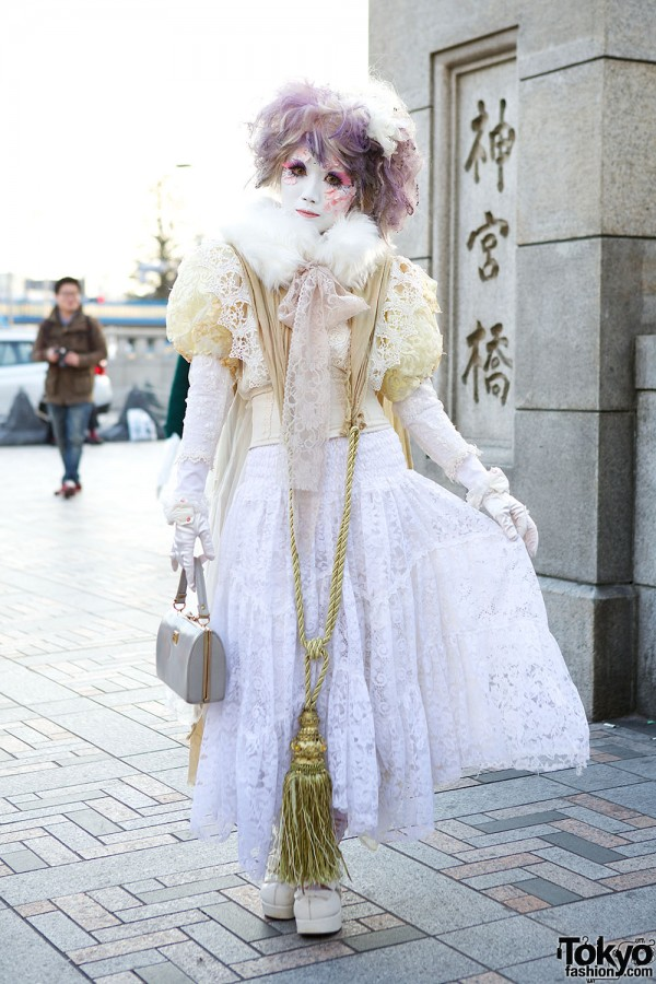 Harajuku Fashion Walk Street Snaps (57)