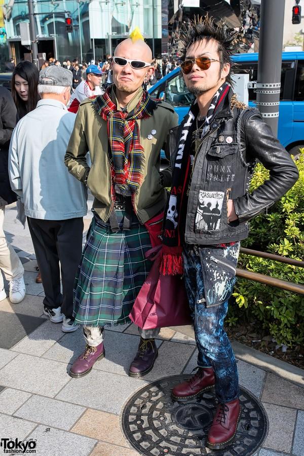 Harajuku Street Punks