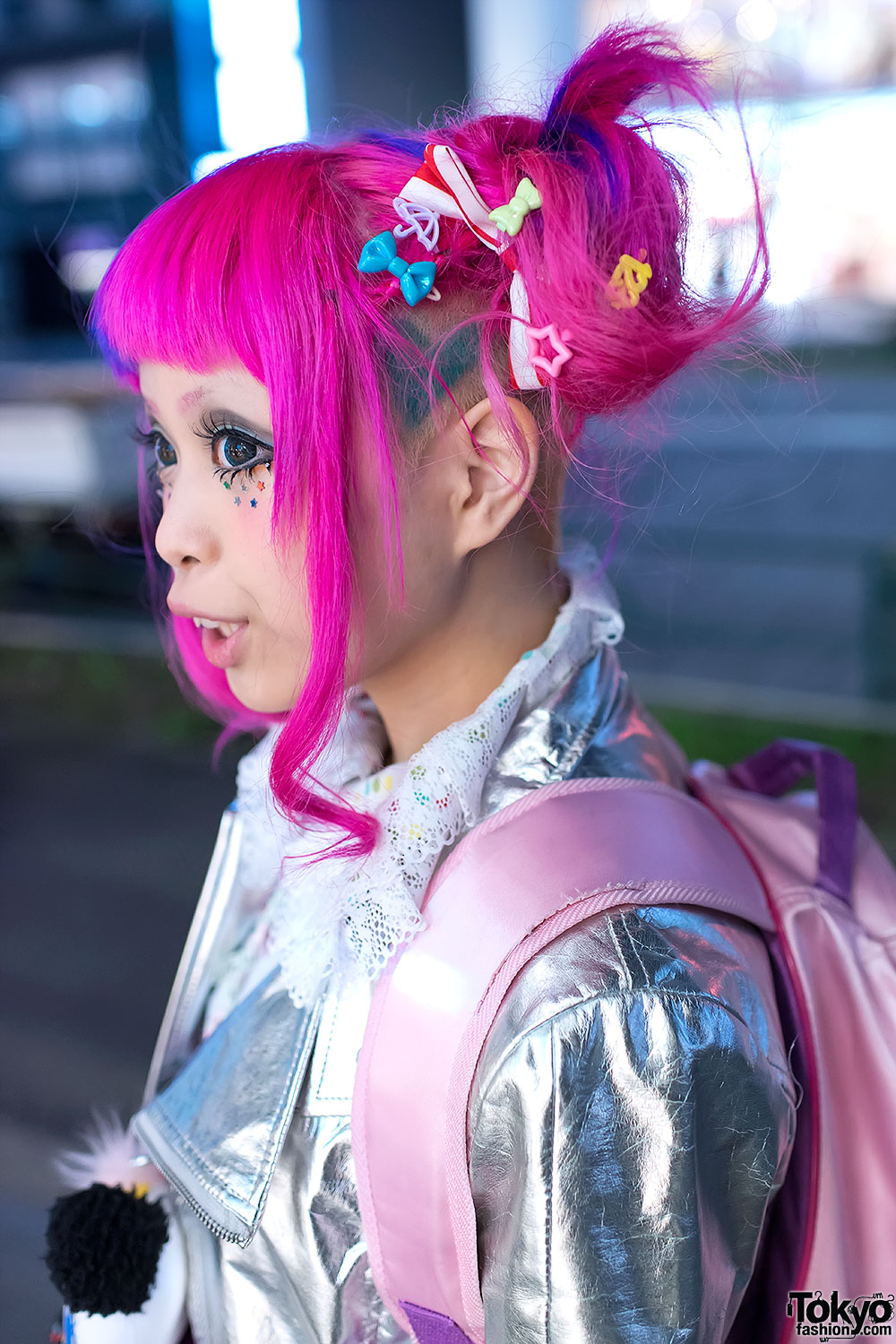 Haruka Kurebayashi S Super Kawaii Pink Hair Amp Fashion In