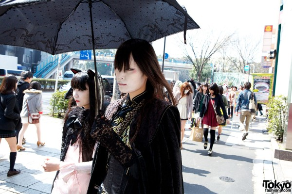 Japanese Shironuri Fashion in Harajuku (26)