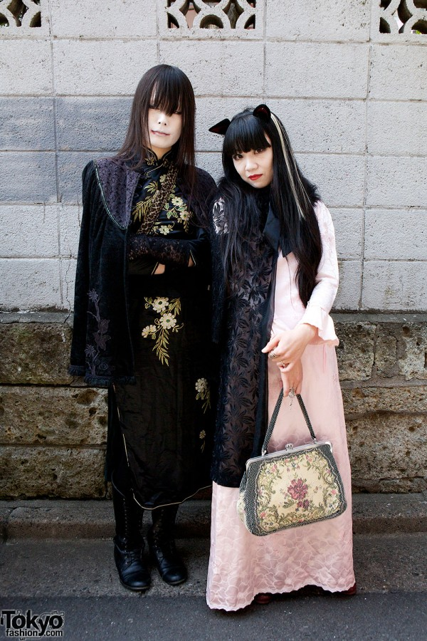 Japanese Shironuri Fashion in Harajuku (53)