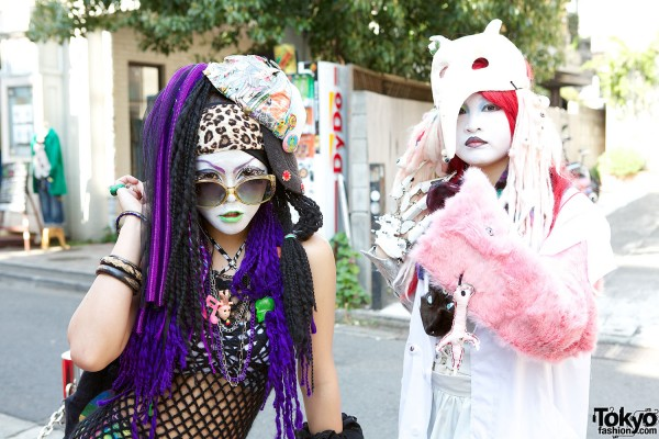 Japanese Shironuri Fashion in Harajuku (64)