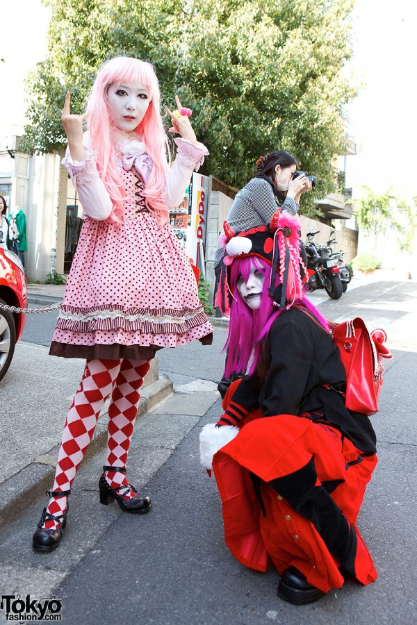 Japanese Shironuri Fashion in Harajuku (65)