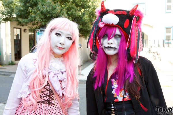 Japanese Shironuri Fashion in Harajuku (66)