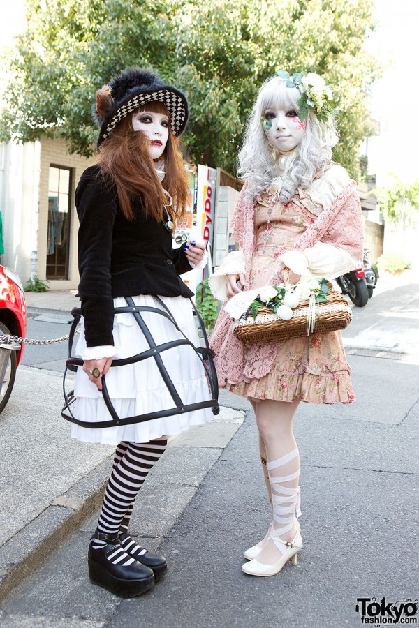 Japanese Shironuri Fashion in Harajuku (67)