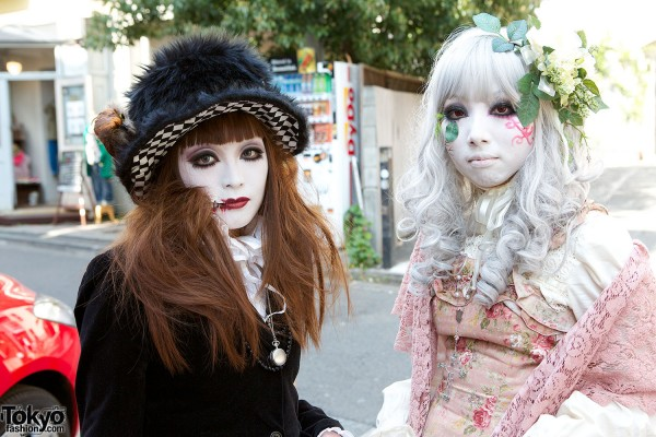 Japanese Shironuri Fashion in Harajuku (68)