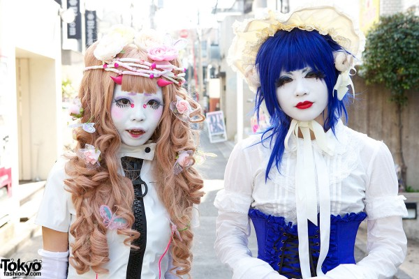 Japanese Shironuri Fashion in Harajuku (84)
