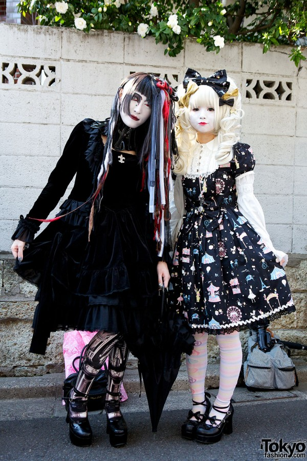 Japanese Shironuri Fashion in Harajuku (99)