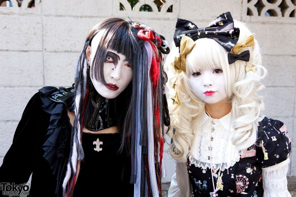 Japanese Shironuri Fashion in Harajuku (100)