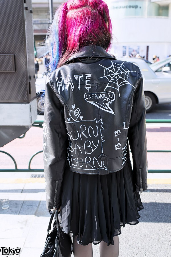 Customized Leather Motorcycle Jacket