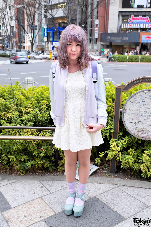Kawaii Pastel Fashion in Harajuku