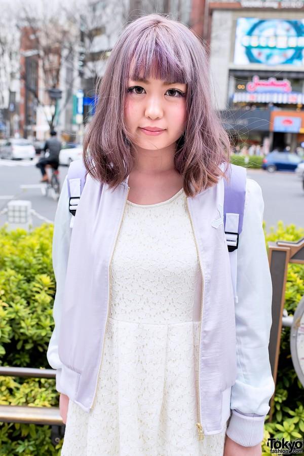 Pastel Hair in Harajuku
