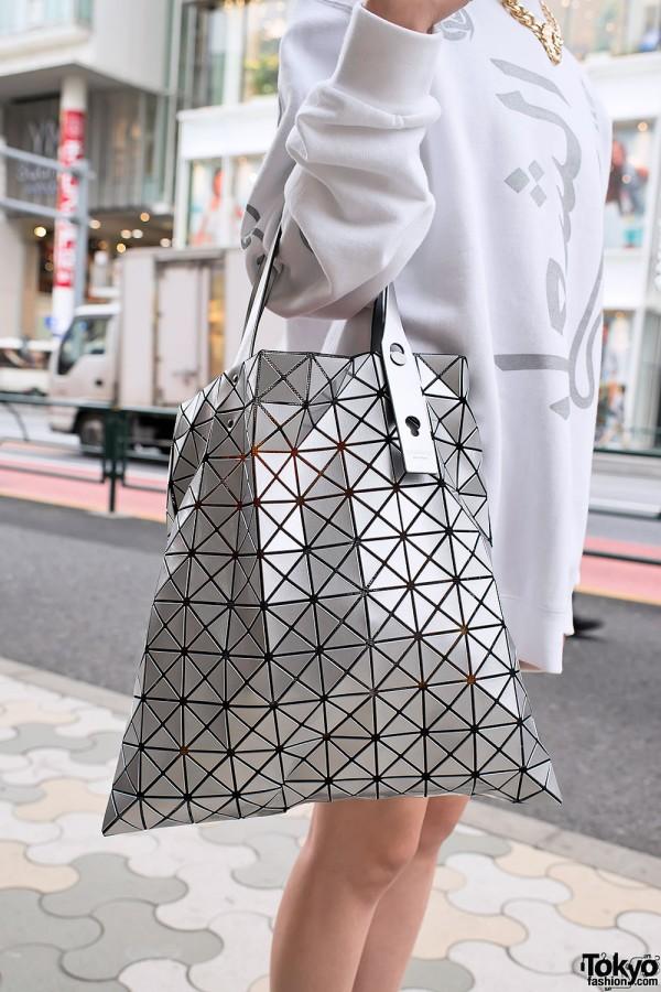 d6a0011e224f Issey Miyake Bao Bao Bag in Silver – Tokyo Fashion News