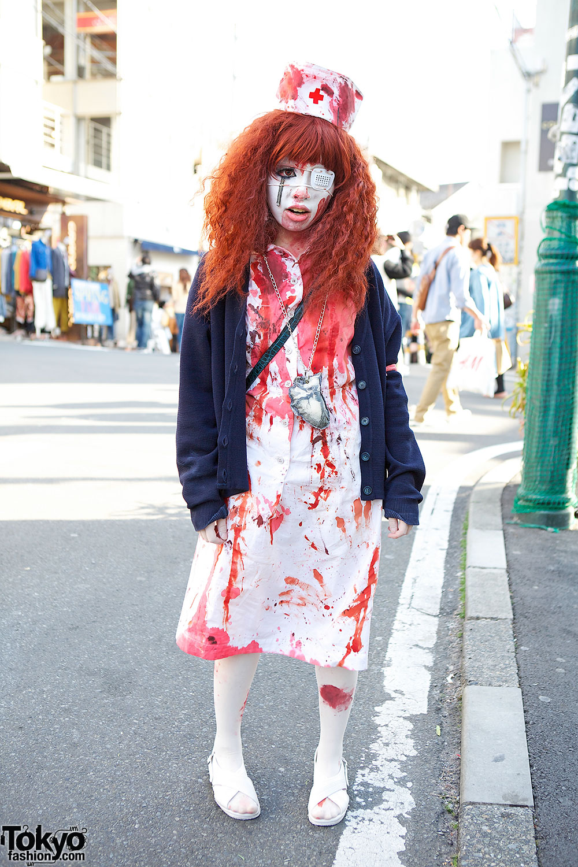 Japanese Horror Nurse Shironuri