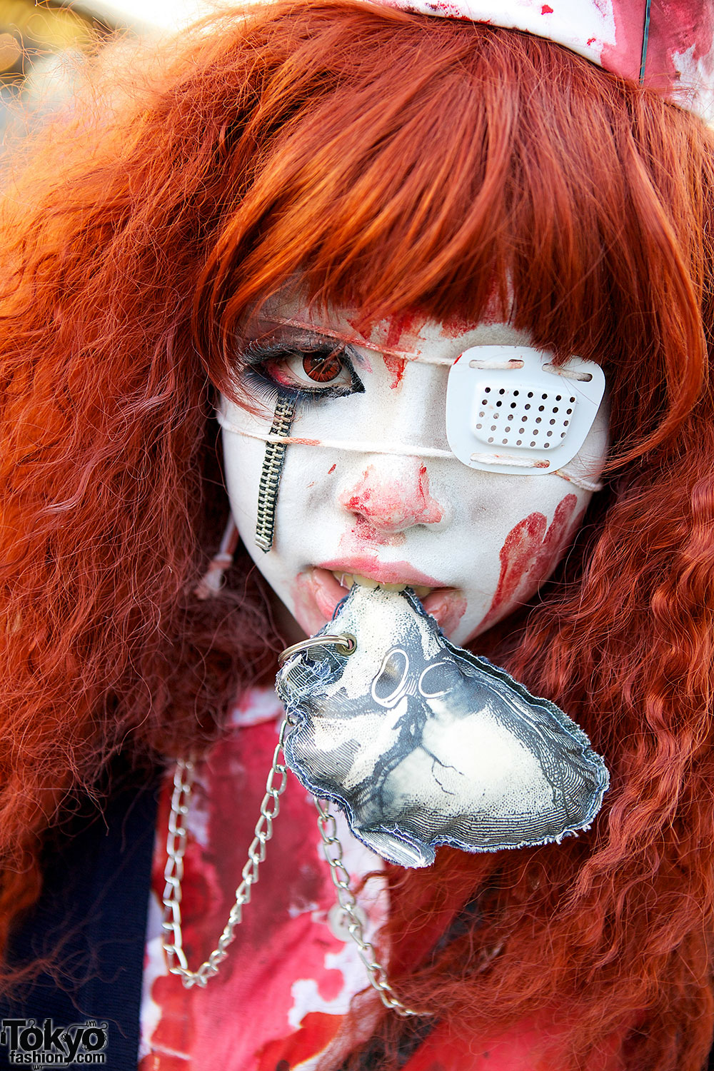 Japanese Nurse with Eye Patch – Tokyo Fashion News