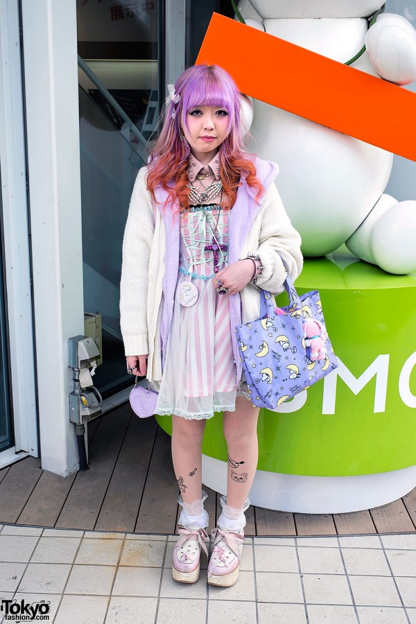 Ombre Hair, Candy Stripper x Snoopy, Milk & Milklim in Harajuku