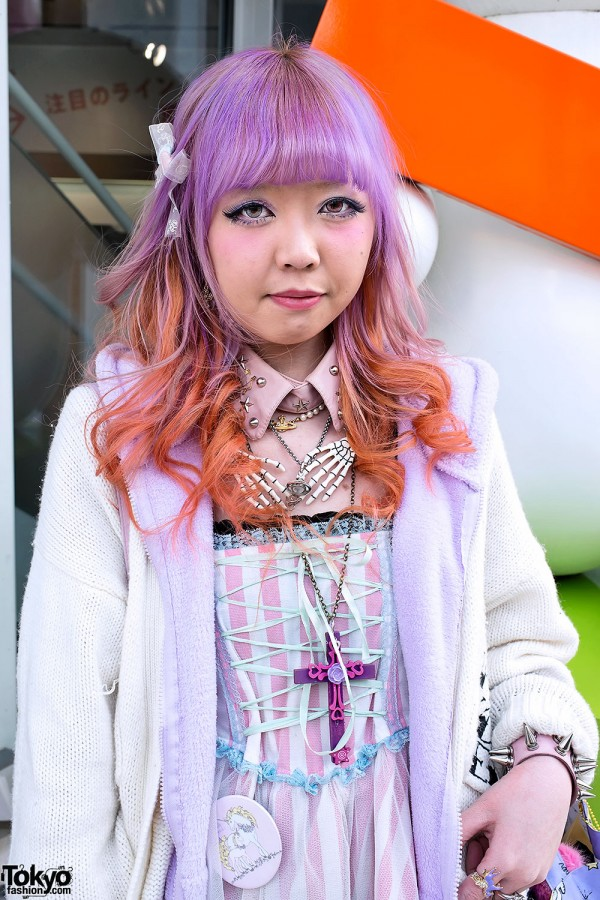 Ombre Hair in Harajuku