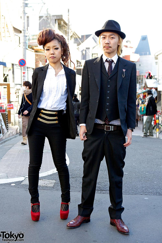Stylish Harajuku Duo