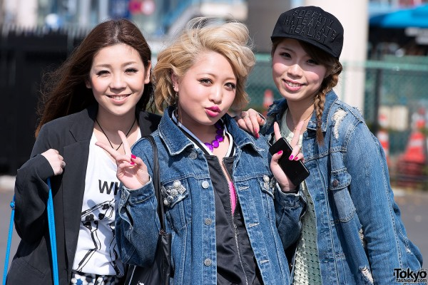 Tokyo Girls Collection Street Snaps 2013 S/S (57)
