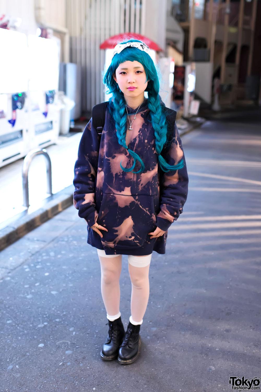 Bleached Hoodie In Harajuku Tokyo Fashion News