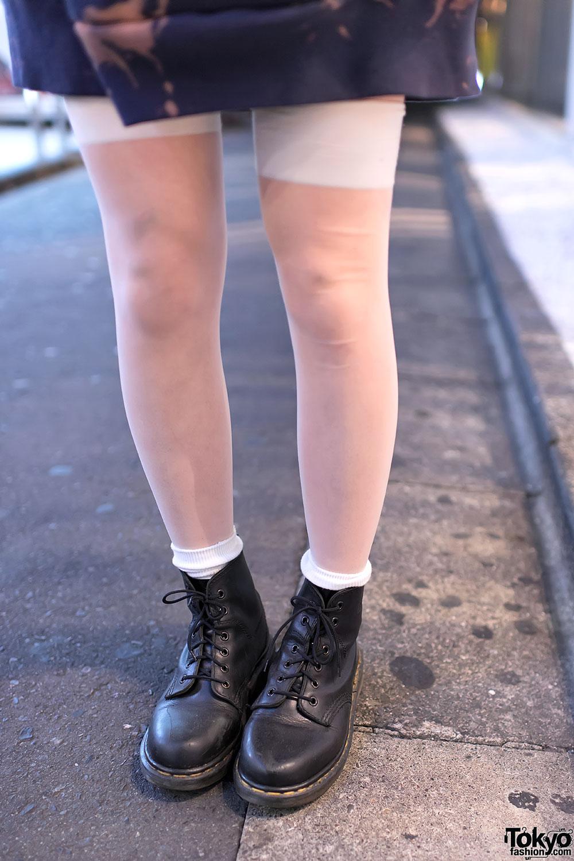 Dr Martens Amp Thigh High Stockings Tokyo Fashion News