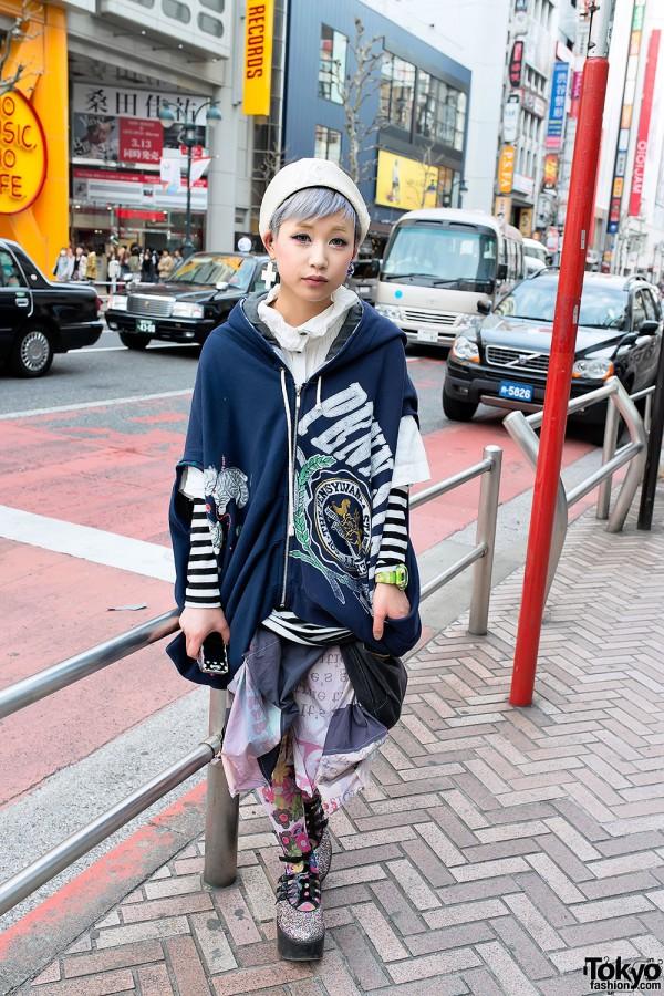 Deconstructed Fashion in Shibuya