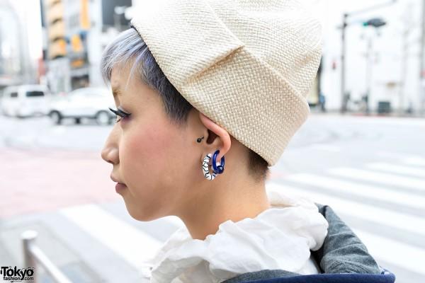 Piercings & Cute Short Hairstyle