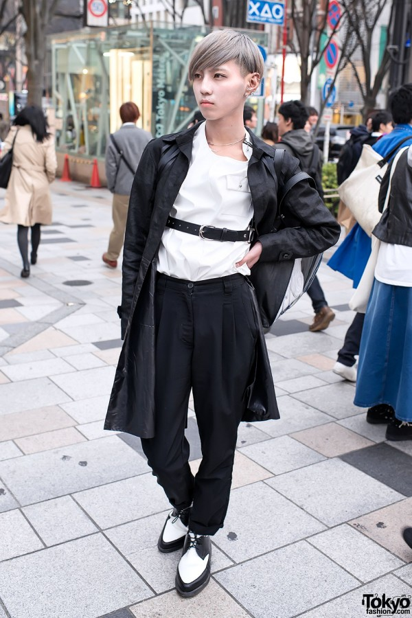 YSK/DEVIL w/ Belted Outfit in Harajuku