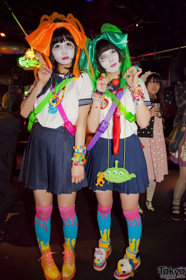 "Harajuku Fashion Party Pictures from ""MEtA x Heavy Pop"" in Tokyo"
