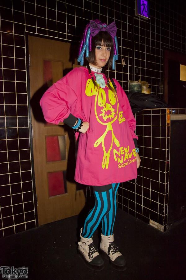 Harajuku Fashion Party Heavy Pop (16)