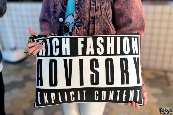 "Joyrich ""ADVISORY"" Clutch"