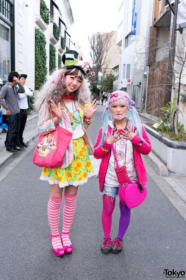 Kawaii Decora Fashion in Harajuku