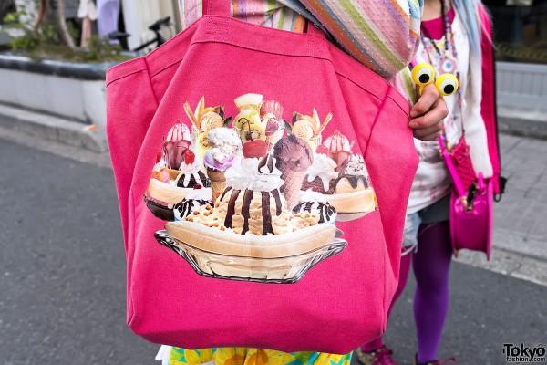 Cute Ice Cream Bag