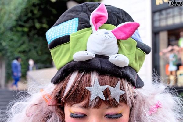 Top Hat With Rabbit in Harajuku