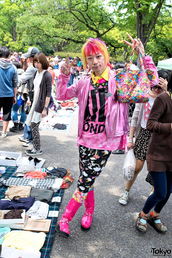 Colorful 6%DOKIDOKI Men's Fashion