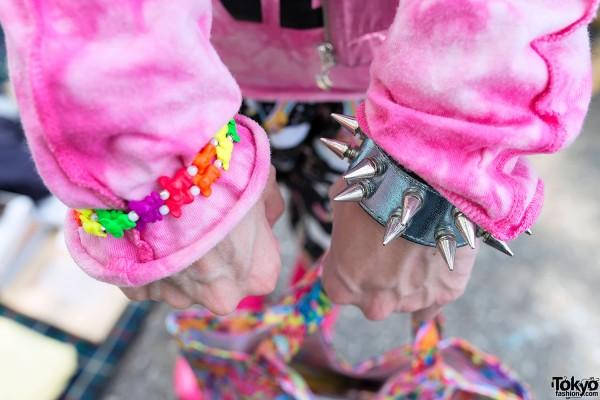 Spiked & Candy Bracelets