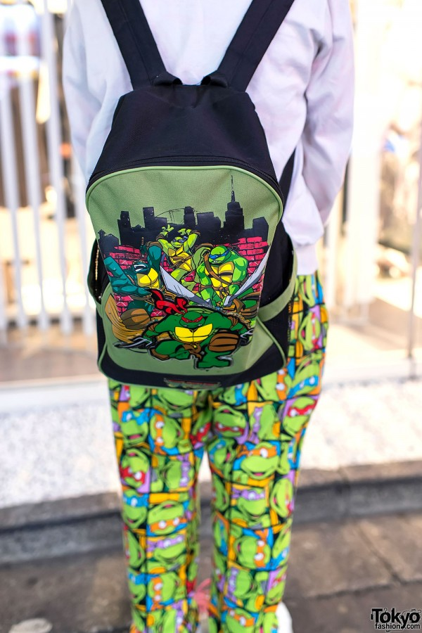 Teenage Mutant Ninja Turtles Backpack & Pants