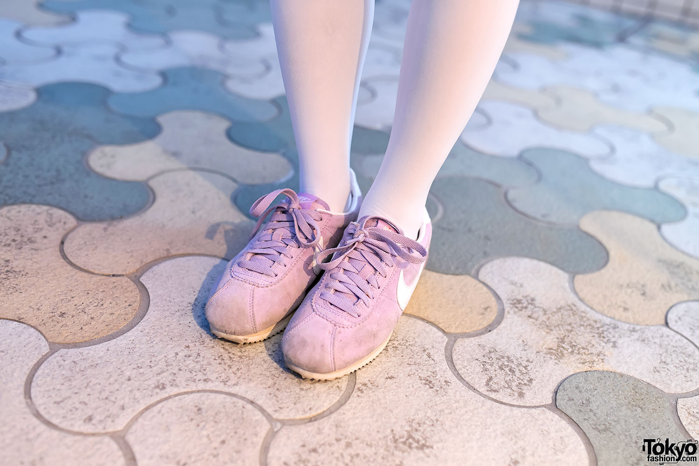 Pastel sneakers