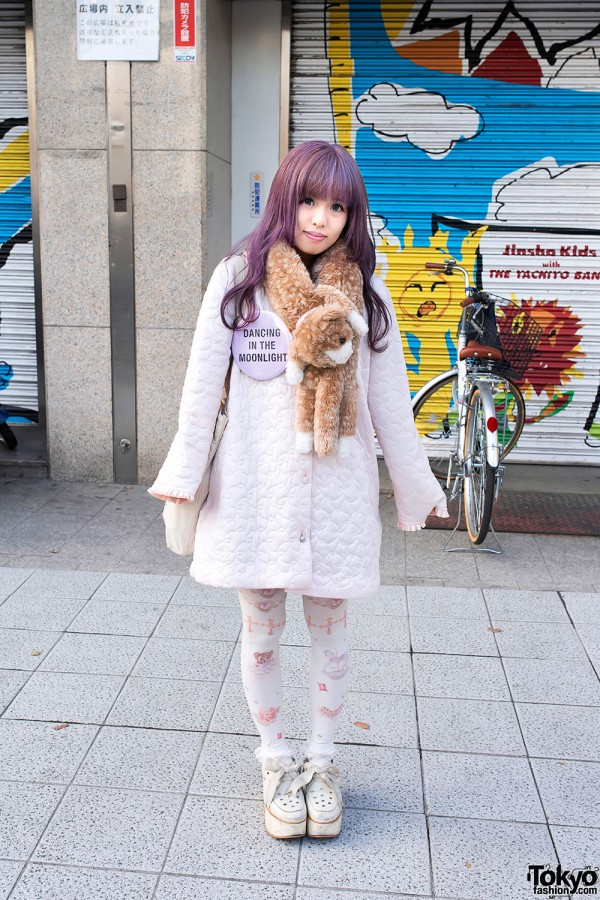 Cute Pastel Fashion in Harajuku