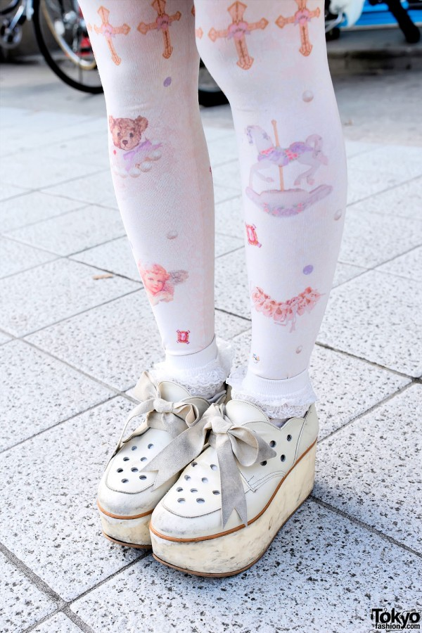 Pastel Tights & Tokyo Bopper Shoes