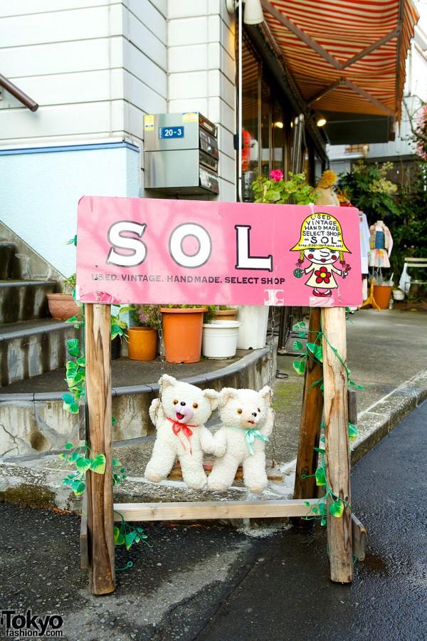SOL & BeBe SOL Harajuku – Kawaii Handmade Goods, Vintage & Remake Fashion Boutique