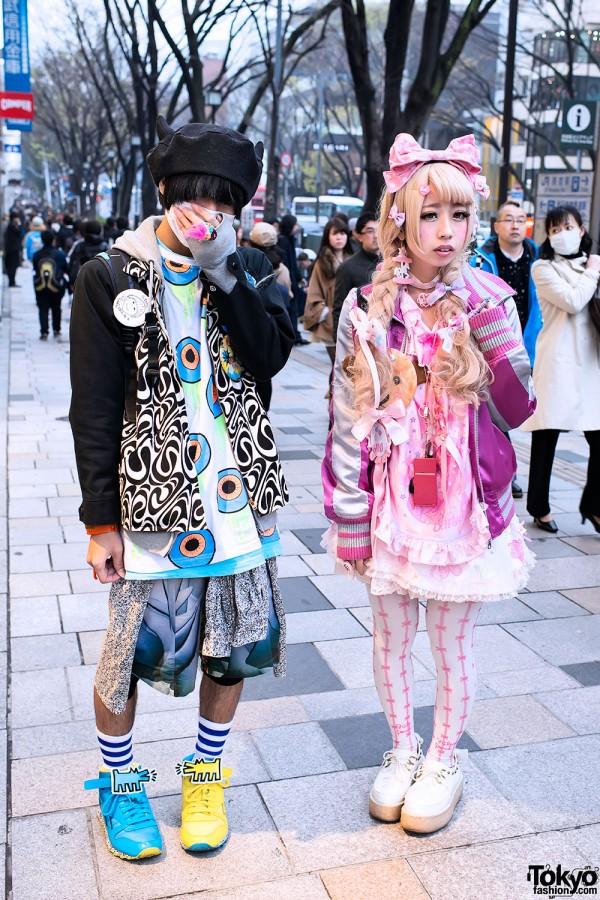 Harajuku Guy & Harajuku Girl Street Style