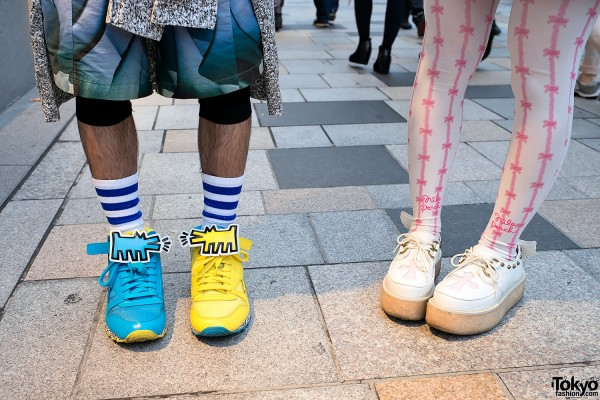 Keith Haring x Reebok Sneakers