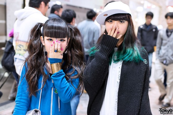 Twintails & Dip Dye in Shibuya