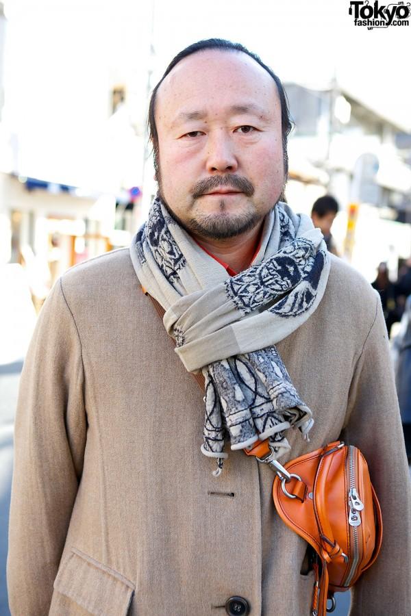 Jil Sander Coat in Harajuku