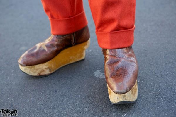 Brown Vivienne Westwood Rocking Horse Shoes