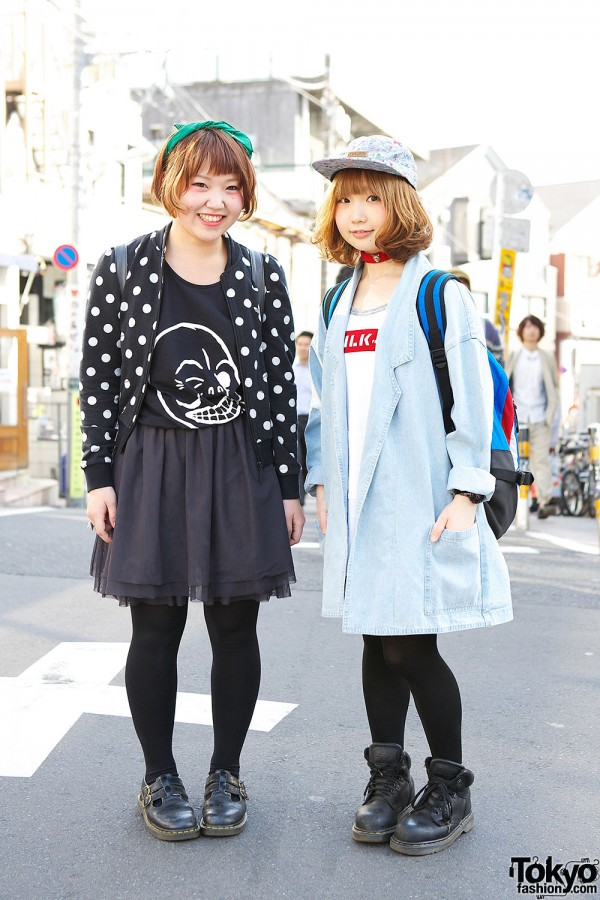 Smiley Harajuku Girls w/ Adidas Polka Dots, Milkfed, 55DSL & Beams Boy