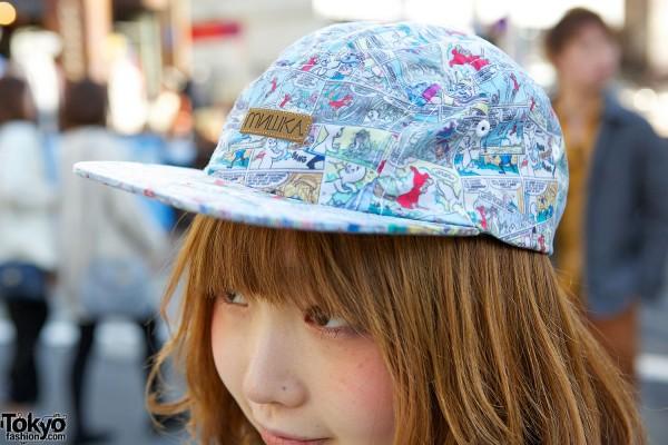 Patterned Cap